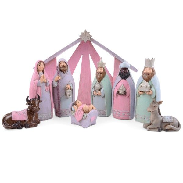 Best Christmas Nativity Images On Pinterest DIY Holiday - Hipster nativity set reimagines the birth of jesus in 2016