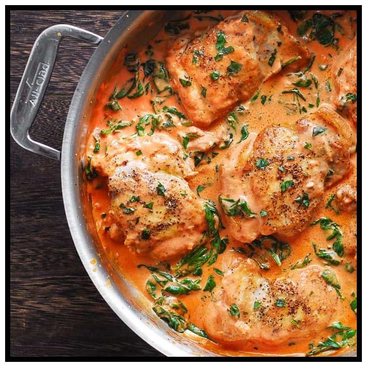 101 Reference Of Boneless Chicken Thigh Casserole Recipes In 2020 Skillet Chicken Chicken Dishes Recipes Skillet Chicken Thighs