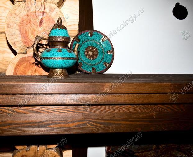 Чайник как украшение камина - Maker as decoration fireplace