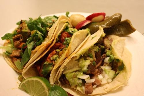 Tacos de Suadero - Tacos Charlie, San Fernando, Mexico DF