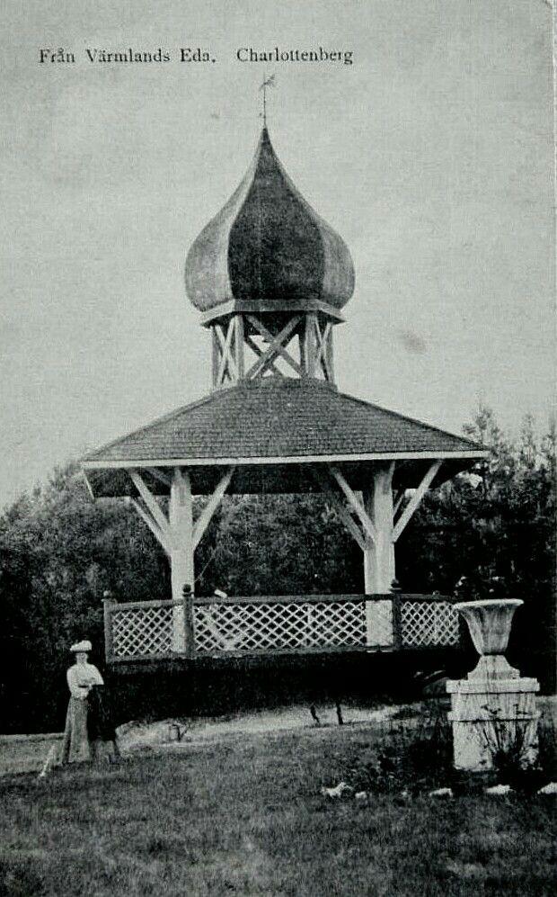 Värmland Eda kommun Charlottenberg Eda Brunn Sanatorium Utg Erik Malm, Charlottenberg brukt 1908