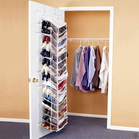 Shoe Organizer Shoes Away Over The Door