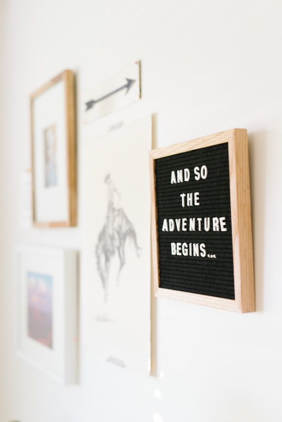 10x10 FELT LETTER BOARD - only $54.   We are loving this trend in home decor right now! Add a little something personal to any space.