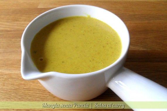 Salsa al curry, ricetta base, Mangia senza Pancia