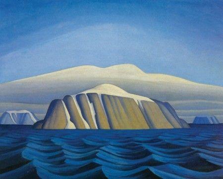 Bylot Island-South Shore-c1930 by Lawren Harris