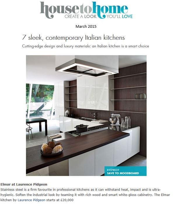 Best Laurence Pidgeon In The Press Images On Pinterest - Contemporary kitchen with modular work island el_01 by elmar