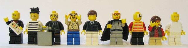 Bluth family Legos