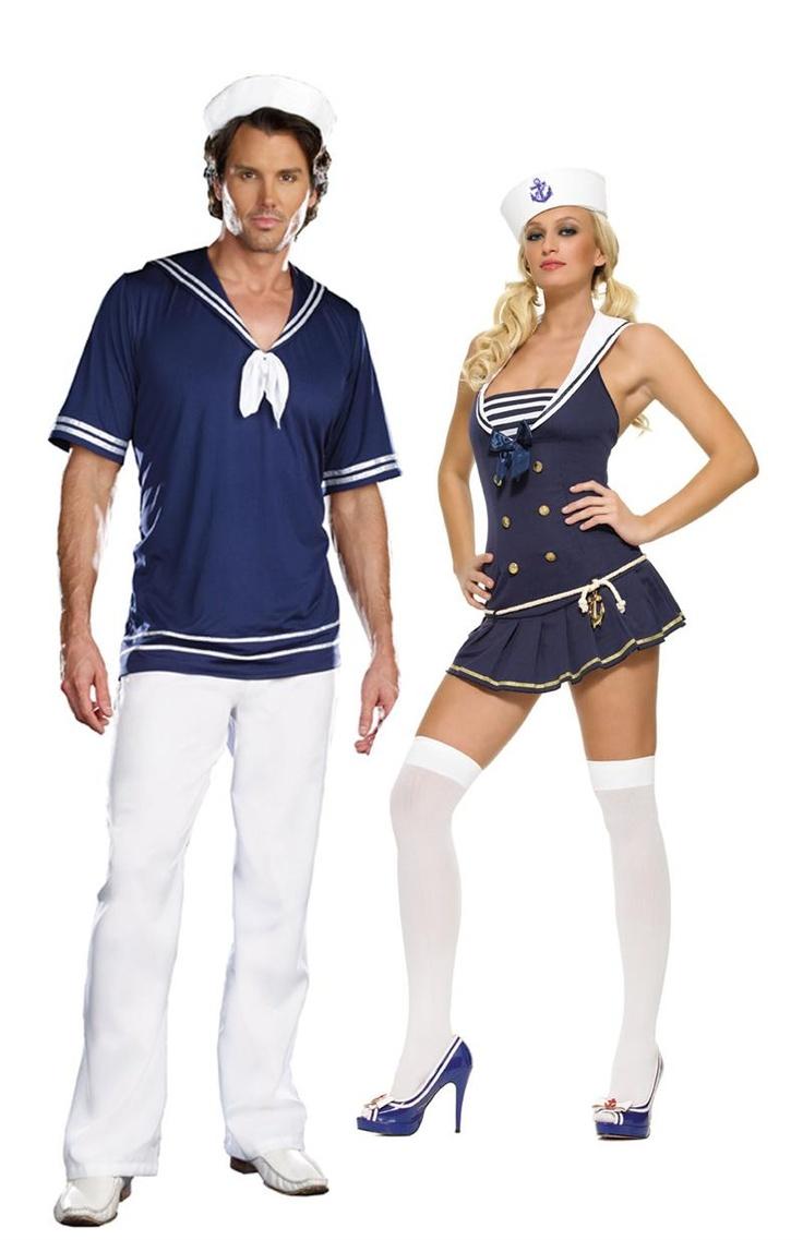 sailor couples halloween costume - Sailors Halloween Costumes