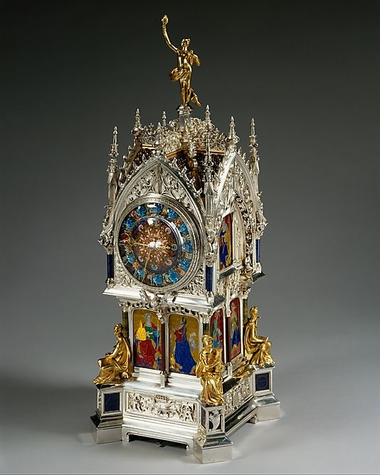 1881 French Clock at the Metropolitan Museum of Art, New York