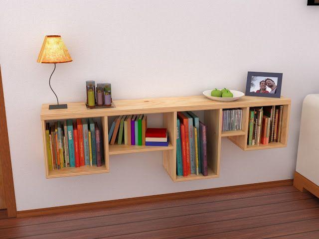 repisa madera http://maderistica.blogspot.com/ wood, shelf, furniture