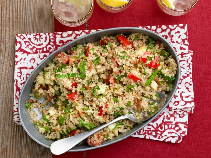Quinoa Pilaf Recipe : Giada De Laurentiis : Food Network - FoodNetwork.com This looks so good I have to  try this!