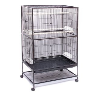 $120 flight cage: This is the one we bought and it is awesome. Our two cockatiels love it; it's very easy to clean. Best of all, they have so much room to play and just get away from each other if needed.