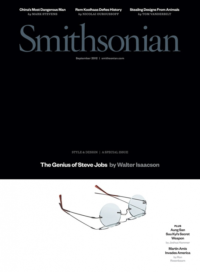 Walter Isaacson reflects on The Genius of Steve Jobs in Smithsonian Magazine cover feature...
