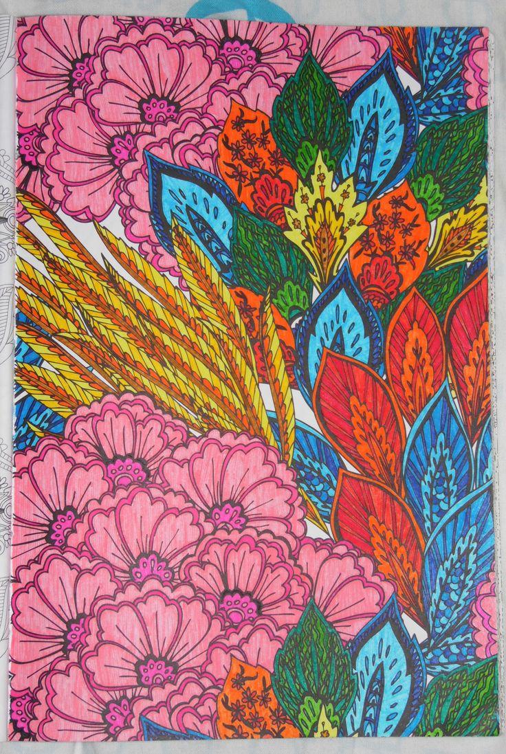 Zendoodle coloring enchanting gardens - Het Enige Echte Kleurboek Voor Volwassenen Deel 1 By Marilyn