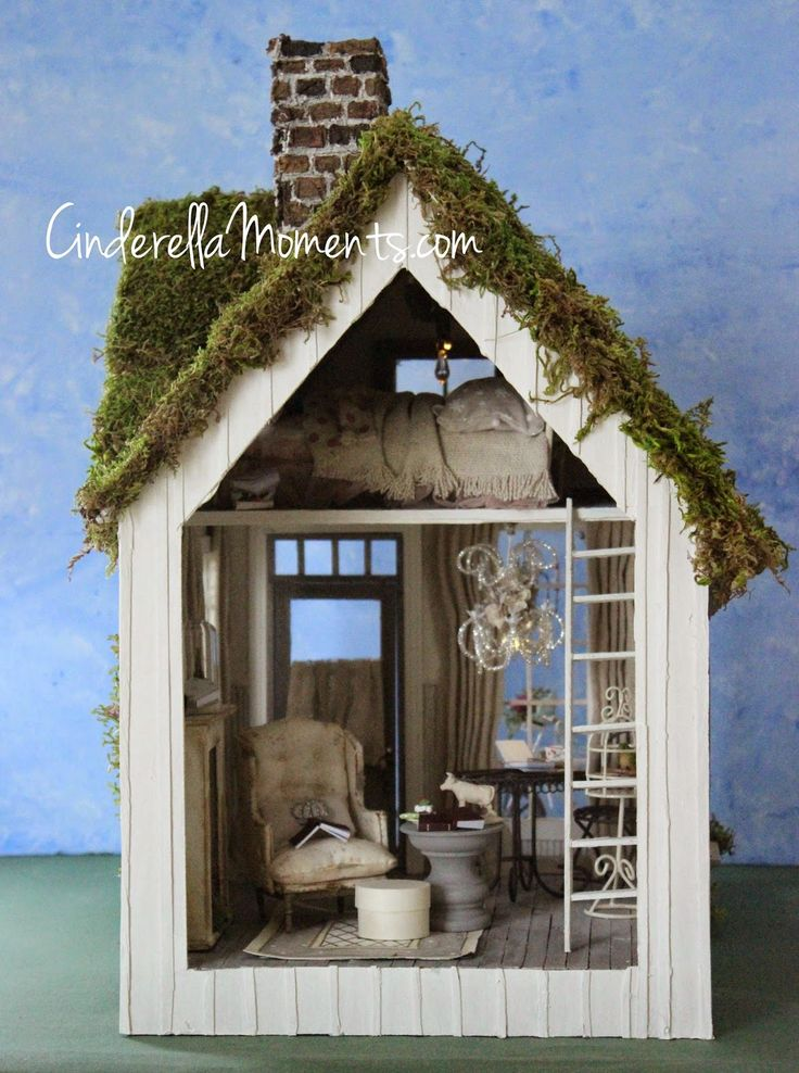 Cinderella Moments: Sweet Cottage, My New Custom Dollhouse