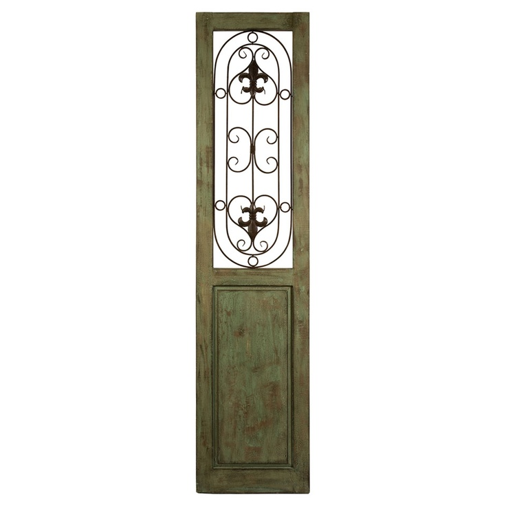 Graves Iron Door Panel