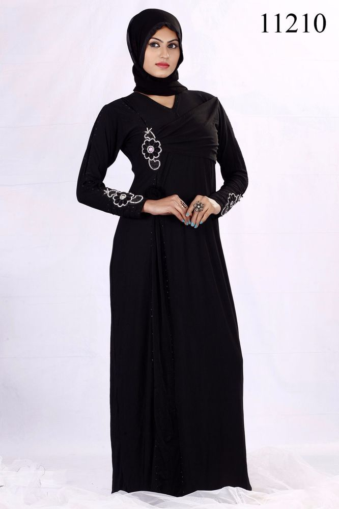 abaya long Islamic Readymade kaftan Jilbab Women wear dress maxi hibab #KriyaCreation