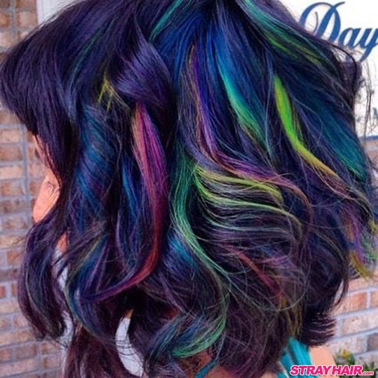 Brilliant 17 Best Ideas About Multicolored Hair On Pinterest Rainbow Hair Hairstyle Inspiration Daily Dogsangcom