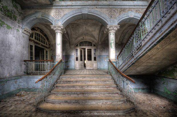 An abandoned military hospital in Germany - Beelitz