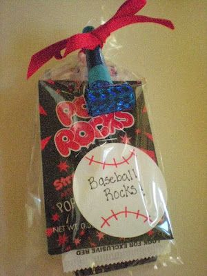 baseball party favors and ideas