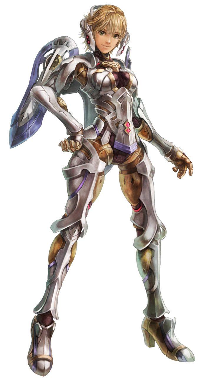 Fiora (Faced Mechon) -... Xenoblade Chronicles
