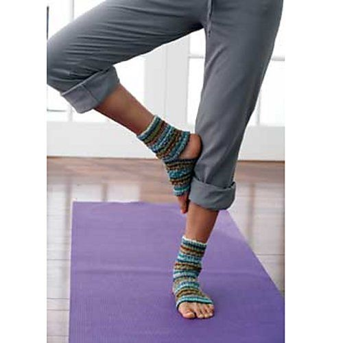 yoga socks 153 free knitting pattern by patons