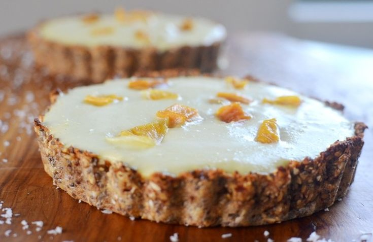 Tartaletas de Mango | Nutralicioso