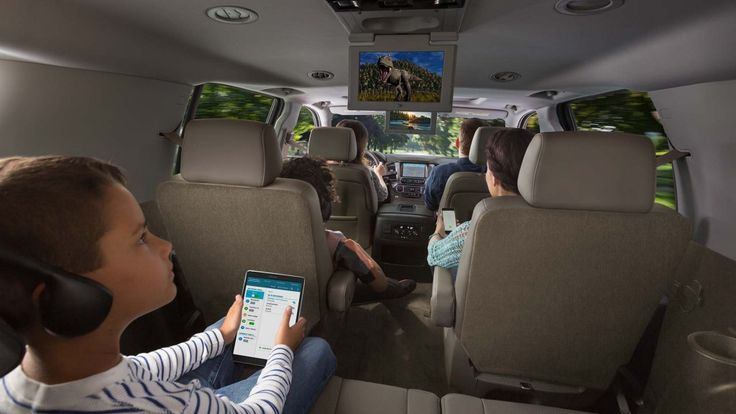 2016 Suburban SUV: Interior Photos | Chevrolet | Chevy ...