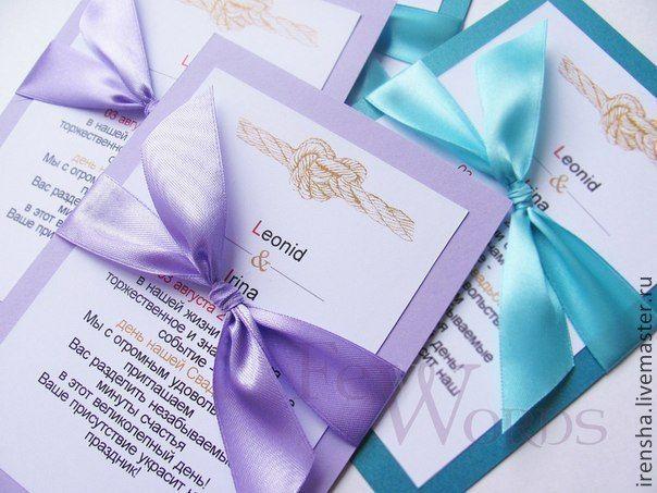 Купить Лиловое Приглашение на свадьбу - сиреневый, открытка, свадьба, пригласительные, приглашения на свадьбу, аксессуары для свадьбы