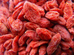 Benefícios de Saúde das Bagas Goji