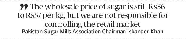 Increasing prices: Govt doles out Rs274m in subsidy on sugar export - The Express Tribune