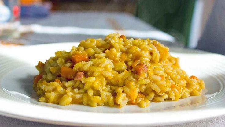 Risotto con zucca e pancetta affumicata ricette da desperate housewives foodporn