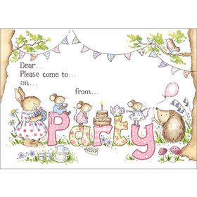 IV95 Party Invitations (pack of 10). www.gailscards.com.au