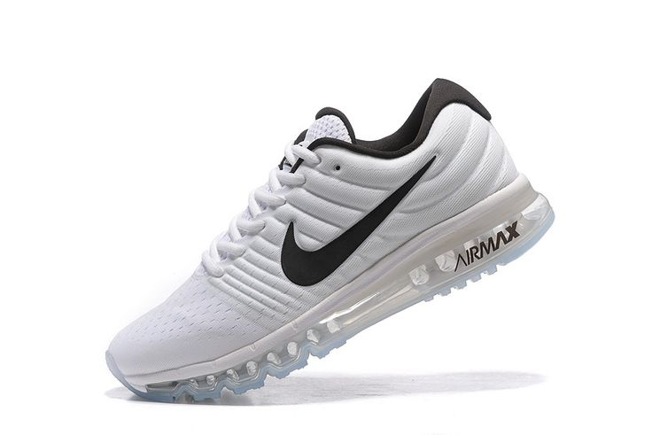 Nike Air Max 2017 Women White Black Tick Mesh