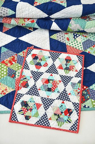 9 best images about inspiration for s b mini quilt swap on for Front door quilt pattern