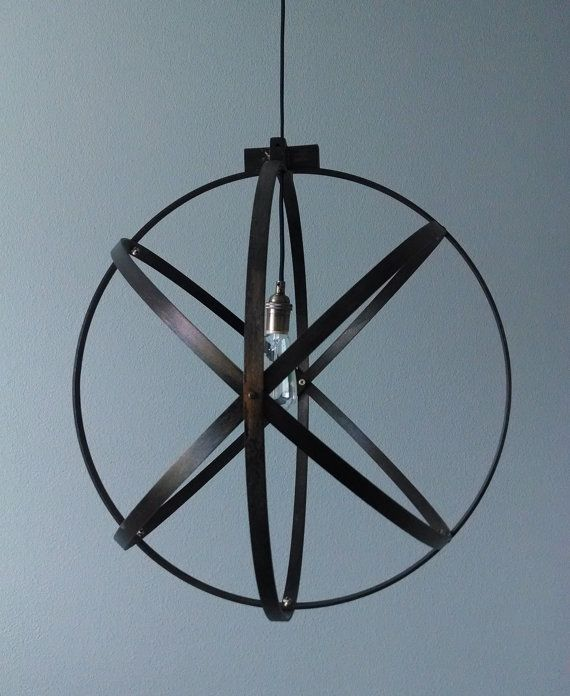 14 inch Modern Spherical Light/ Entryway Light/ by BlueOxHome