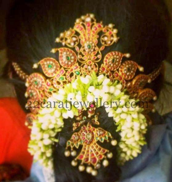 Jewellery Designs: Rubies Hair Accessories