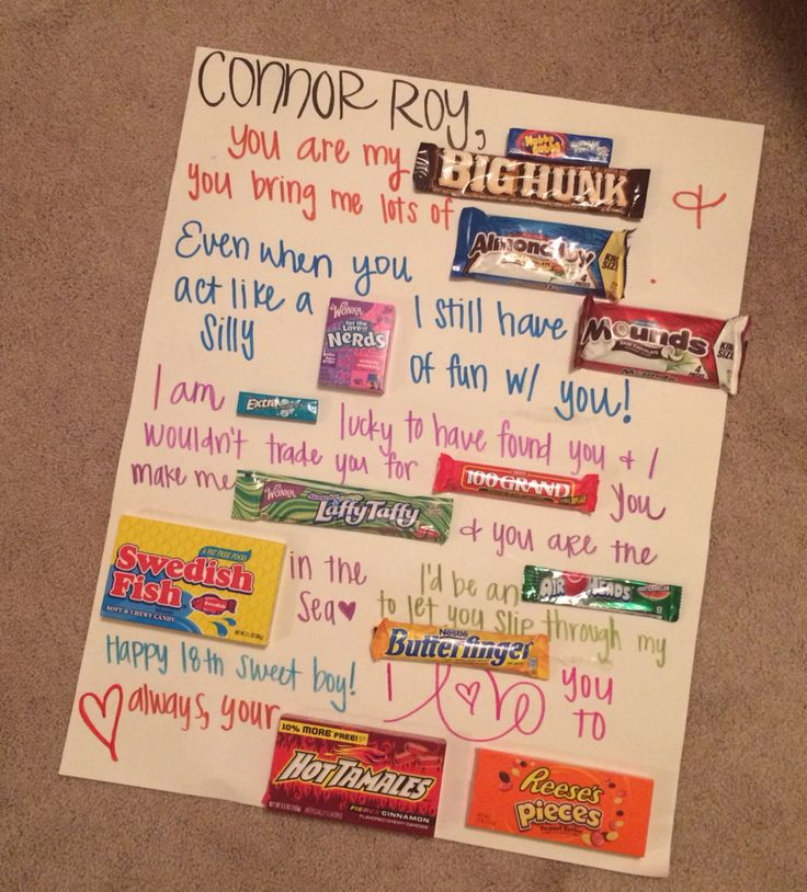 The 25 best Candy card boyfriend ideas – Birthday Cards for Your Boyfriend