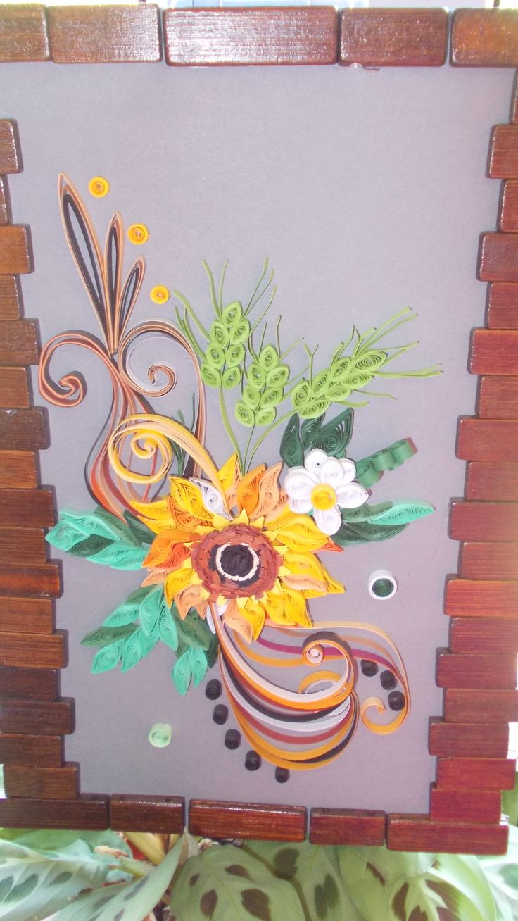 quilling panel https://www.facebook.com/QuillingByCami