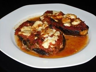 Greek Eggplant Feta Recipe - seems easy and can use up my summer tomatoes