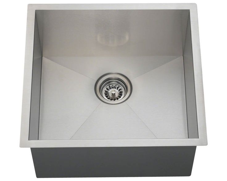 Shop MR Direct Rectangular Stainless Steel Utility Sink At Loweu0027s Canada.  Find Our Selection Of Bar Sinks At The Lowest Price Guaranteed With Price  Match + ...