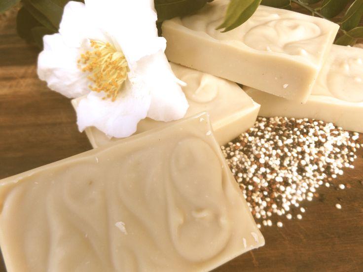 Quinoa and Chia Milk soap