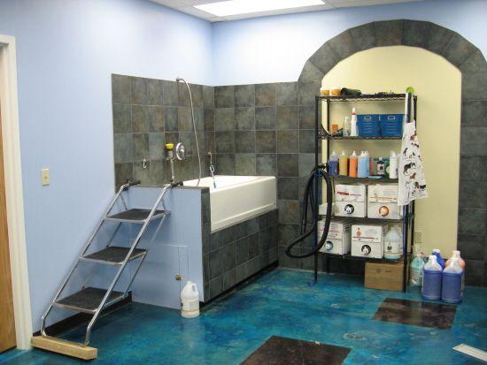 Great Grooming Tub!