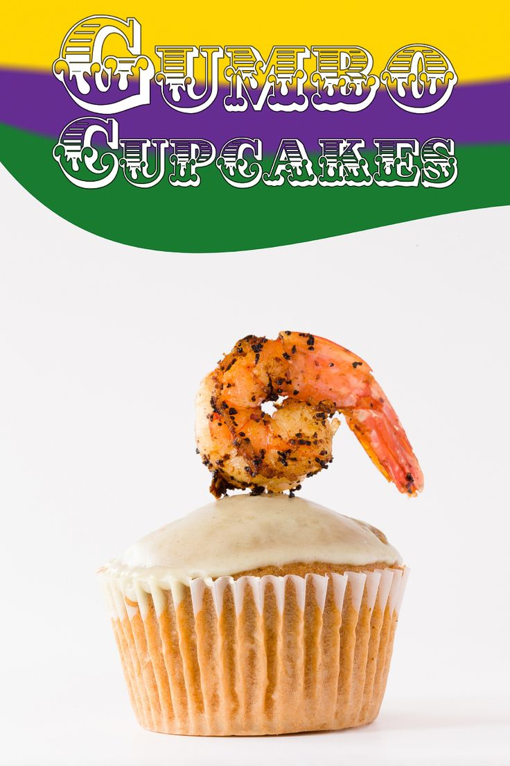 I have to say that this may be the most unique and weirdest cupcake I have ever seen.Gumbo Mardi Gras Cupcakes Now Exist ~ Cupcake Project