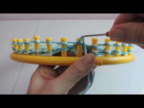 Loom Knit Hat - How to Make Super Easy Spiral Hats with Step by Step for Beginners - YouTube