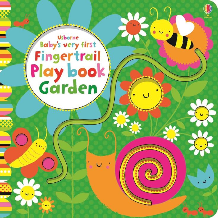 "Find out more about ""Baby's very first fingertrail play book garden"", write a review or buy online."