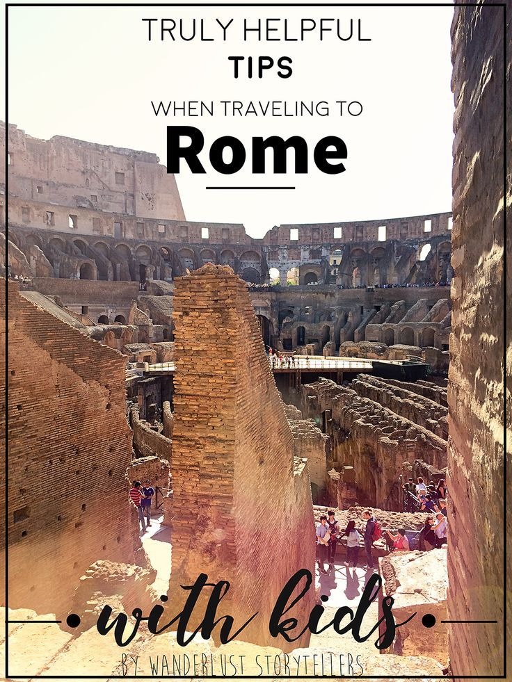 A truly helpful, comprehensive list of tips for each of the major attractions in Rome when you are traveling with your kidlets in tow!  Hop over and read more on .    Atrractions in the post include ColosseumPantheon - Trevi Fountain - Spanish Steps - Knights of Malta Keyhole - Mouth of Truth - Vatican Museum: