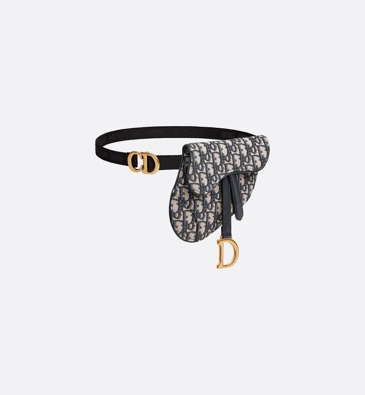 42e47fd7b Oblique Saddle belt bag in 2019 | Handbags | Dior, Purses, handbags ...