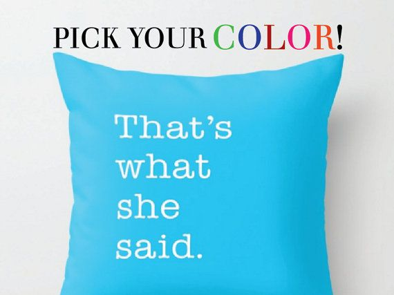 Funny Pillow Words Pillow Quote Cushion Black White Pillow