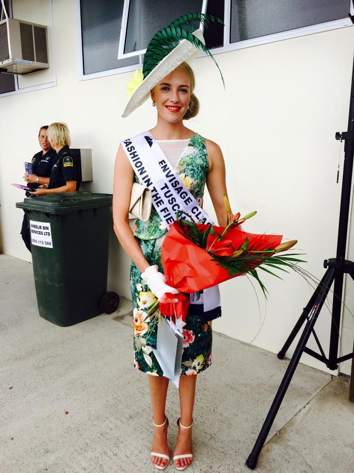Alisha Maxwell winning fashion in th field wearing Ooby Ryn